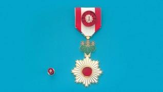 2015年春の叙勲と褒章の受章者が発表された。
