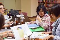 甲府市障害者センターで行われた会合の様子