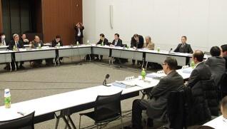 医療法人の事業展開等に関する検討会の模様