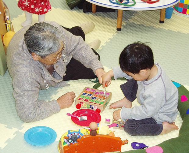 仙台楽生園のおもちゃ図書館(提供=同園)