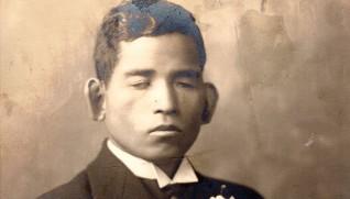 若き日の創立者 秋元梅吉