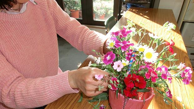 精神や身体の状態を改善してくれる園芸療法