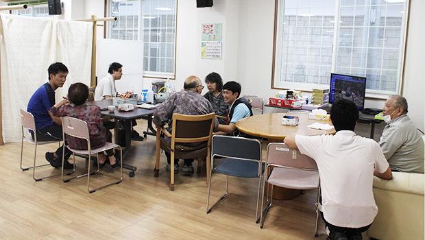 リデルライトホームは福祉避難所の役割を果たしている