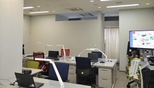 コレワーク東日本の事務所内