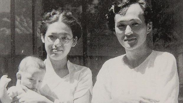 乳児院開院当初の櫛田夫妻